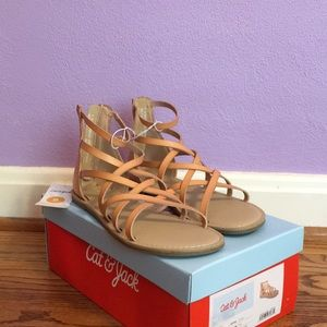NWT Girls Cat & Jack sandals